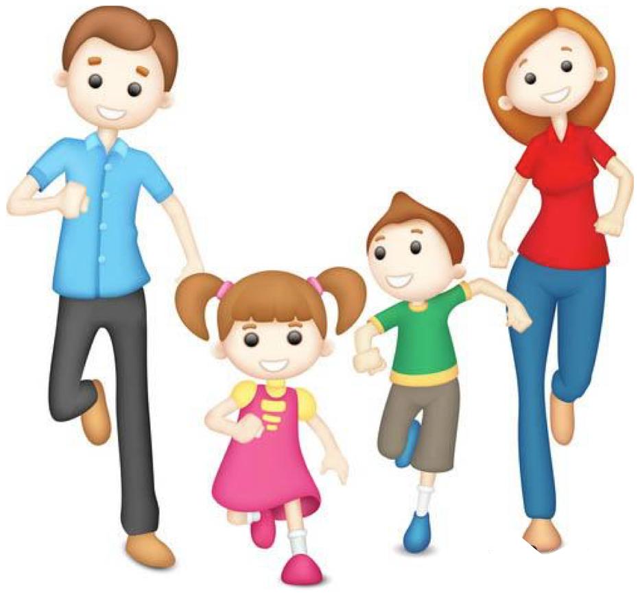 Картинки про родителей рисованные